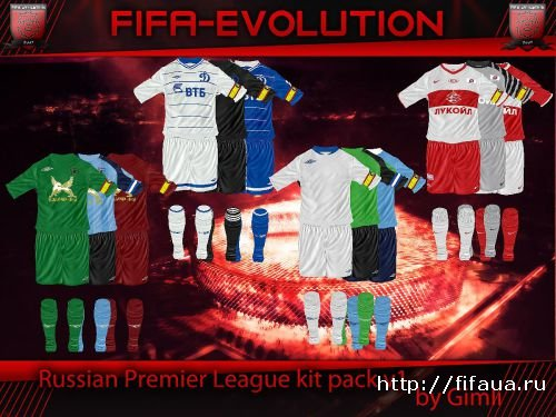 Russian Premier League Kit Pack v1 by Gimli