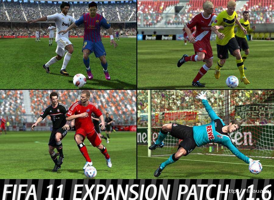 Fifa 11 expansion patch 1 6
