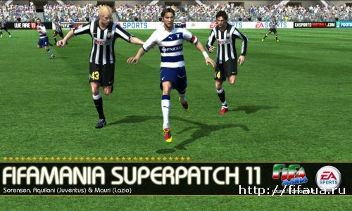 FifaMania Superpatch 11