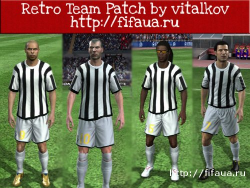Retro team by vitalkov for fifa 11
