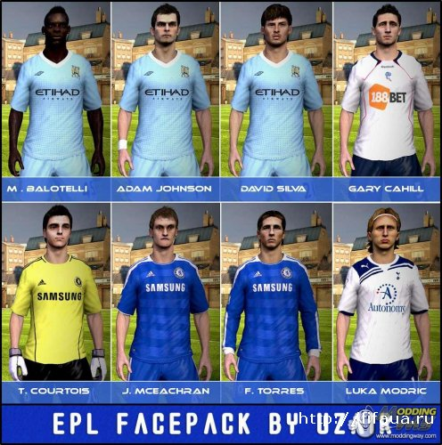 EPL Facepack by Uzair