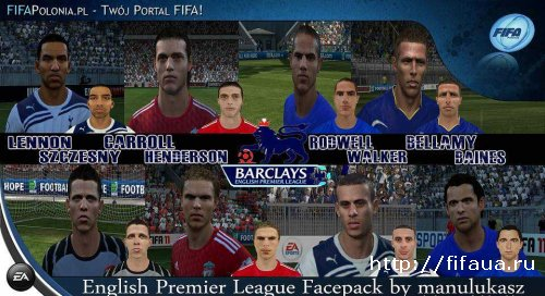 English Premier League Facepack