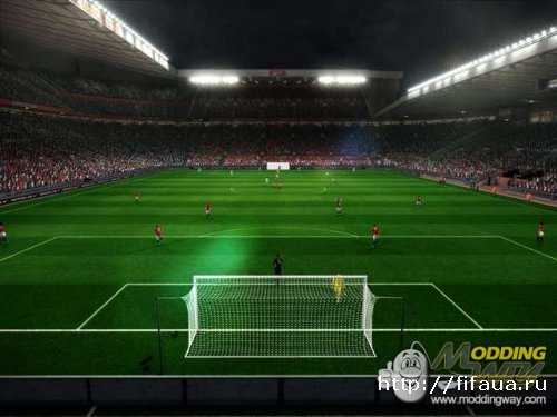 PES 12 DEMO Old Trafford