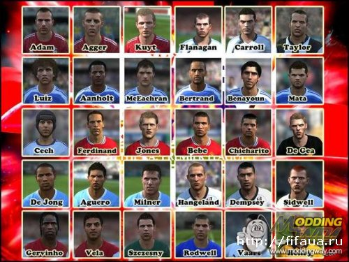 FIFA 11 EPL Faces Pack by Bachxop9x
