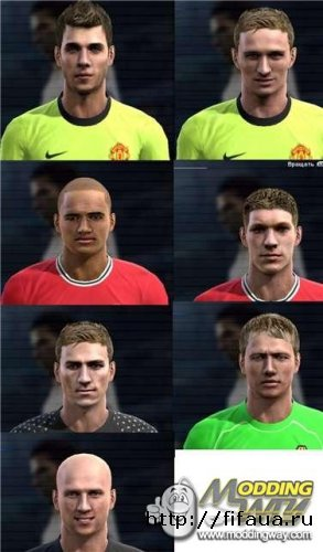 Face Pack for PES 2012 N 2 by DART
