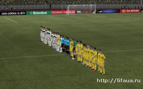 FIFA 12 Ukrainian national team patch beta