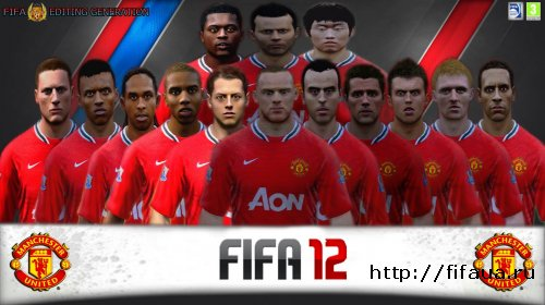 FIFA 12 Editing Generation Face Update Manchester United V.1