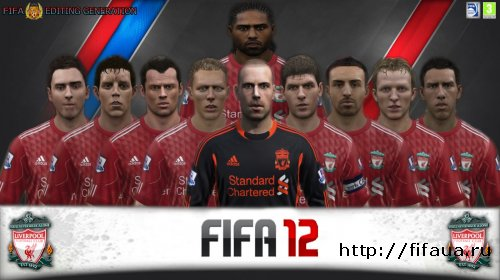 FIFA 12 Editing Generation Face Update Liverpool V.1