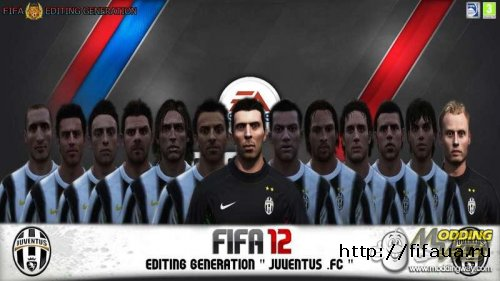 FIFA 12 Editing Generation Juventus Face Update V.1