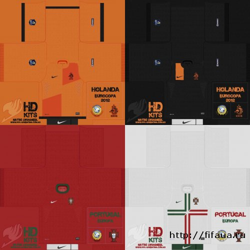 FIFA 12 Netherlands + Portugal 11/12 Kits Pack