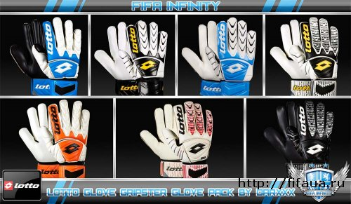 FIFA 12 Lotto Glove Gripster Glove Pack