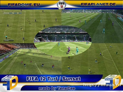 FIFA 12 Turf Patch