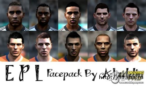 FIFA 12 EPL facepack vol1 by Aladdin