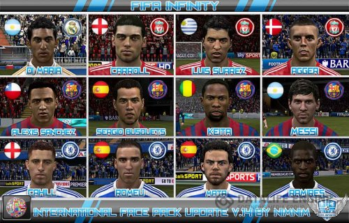 FIFA 12 International Face Pack Update V.14