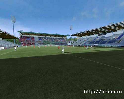 FIFA 12 STADE ABBE DESCHAMPS (AJ Auxerre) by Svence