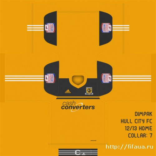 FIFA 12 Hull City 12/13 Home Kit