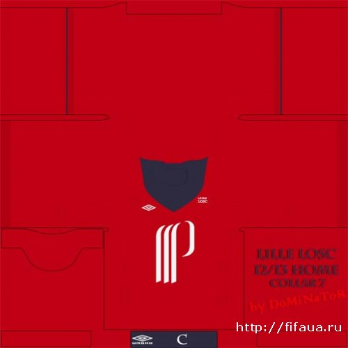 FIFA 12 Lille 12 - 13 kits pack
