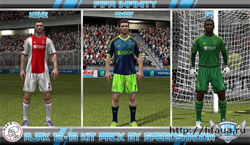 FIFA 12 Ajax Kit Pack 2012-2013