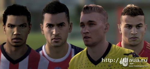 FIFA 12 International Faces Pack V4 by Vadios