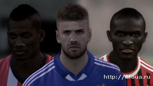 FIFA 12 International Faces Pack V5 by Vadios