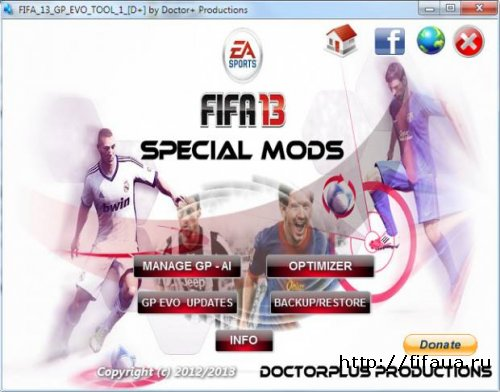FIFA 13 Gameplay Evolution Tool Plus 1.0