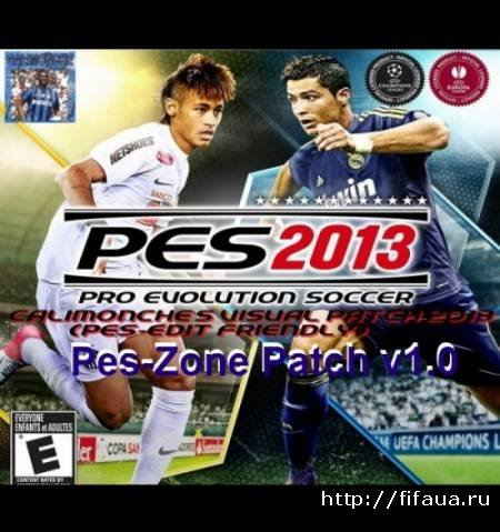 Pes-Zone Patch 1.0 - торрент