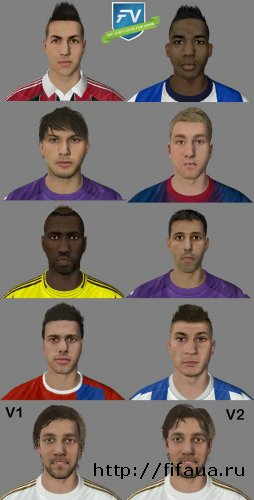 FIFA 13 International Facepack vol.5 by FV.Bart
