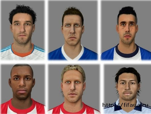 FIFA 13 FacePack 3 By CoolerMaster