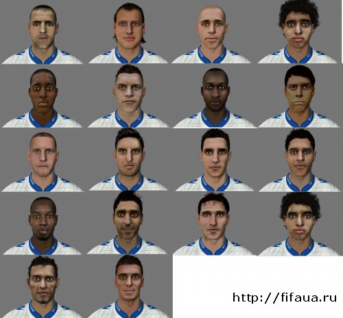 FIFA 13 International new facespack