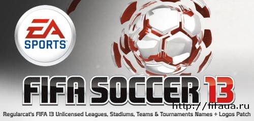 Regularcat's Unlicensed Leagues, Stadiums, Teams & Tournaments Names + Logos для FIFA 13