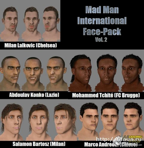 Mad Man International Face-Pack Vol. 2