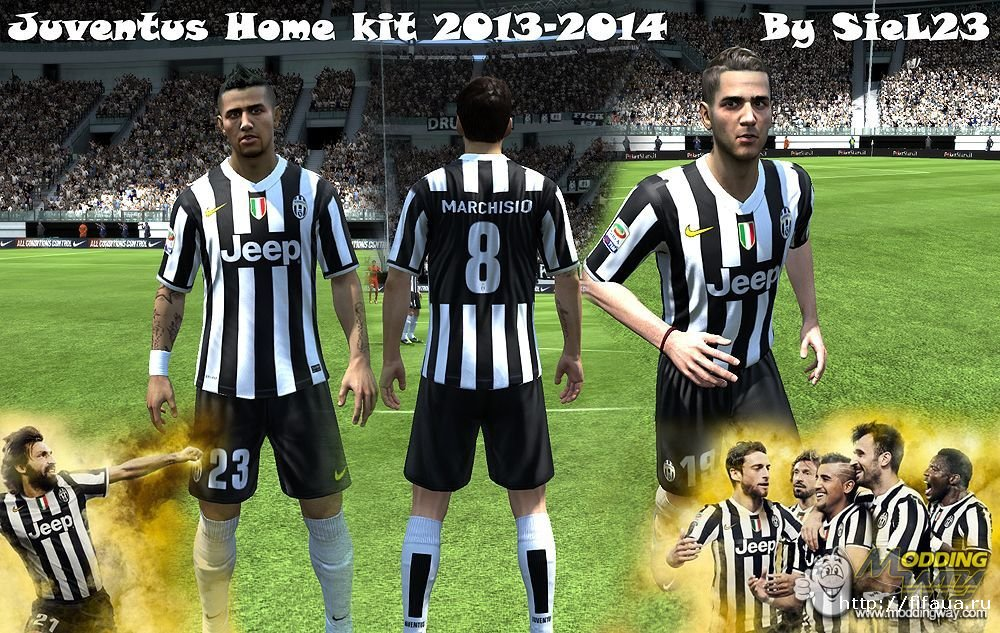the latest 67db0 1d17b Juventus kit 2013-2014 fifa13 by SieL23 » FIFA 19, FIFA 18 ...
