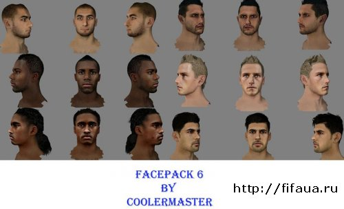 FIFA 13 FACEPACK 6 By CoolerMaster