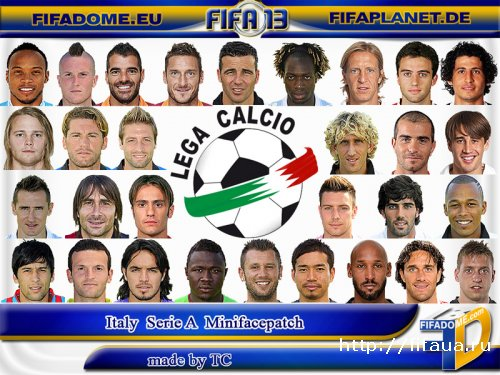 Serie A Minifacepatch by TC