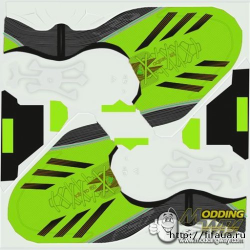FIFA 13 ADIDAS F50 GREEN DARK boot