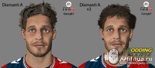 Diamanti Alessandro face by Gemy87