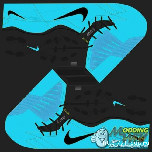FIFA 13 Nike T90 Blue boots