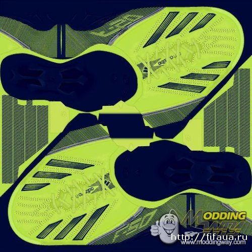 FIFA 13 Adidas F50 adizero III - Electricity-HeroInk-Silver boots