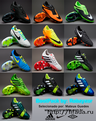 FIFA 13 BootPack V2 by Rabzyxors from Universo Kits