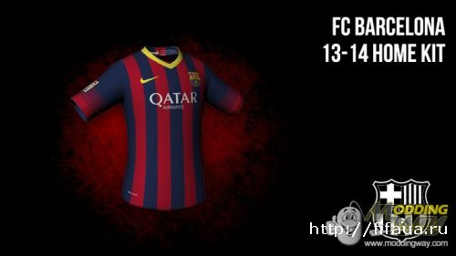FIFA 13 Barcelona Kitpack by Tonce