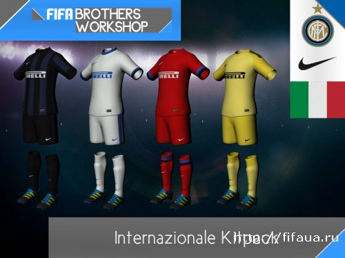 FIFA 14 Internazionale FC 13-14 Kitpack by Gaz Panic