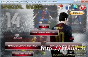 FIFA 14 DEMO LOD AND CROWD TOOL 1.0