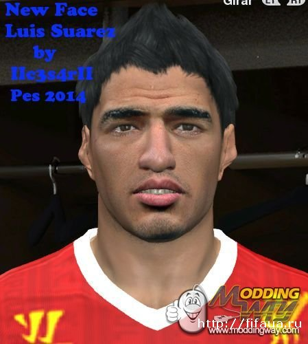 New Face Luis Suarez pes2014