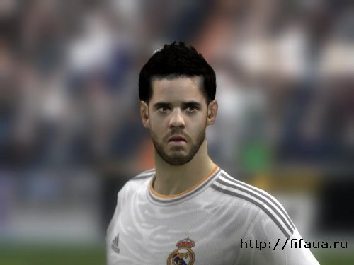 FIFA 14 Isco face - Real Madrid
