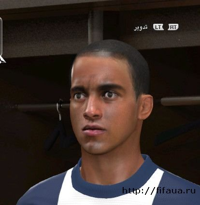 PES 14 Lucas Moura Face By-X9