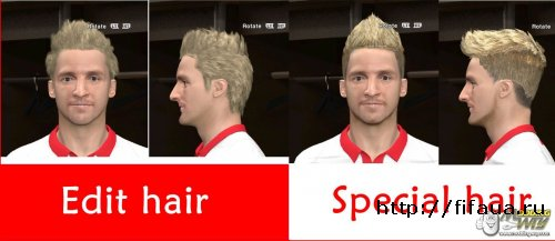 PES 14 Marko Marin Face By-X9