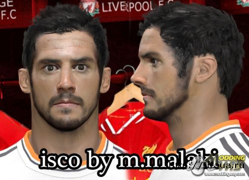 PES 14 ISCO FACE BY M.MALEKI