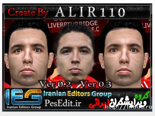 PES 14 Faces Nasri