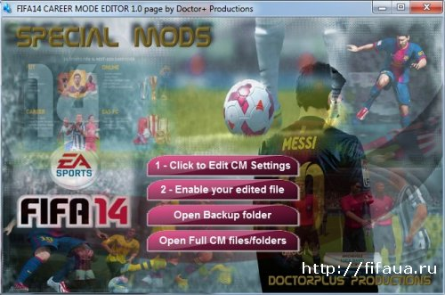 Fifa 14 New Career Mod Editor 2.0