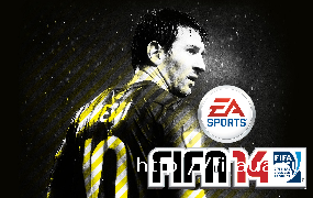 FIFA 14 Messi StartScreen
